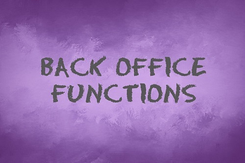 back office functions