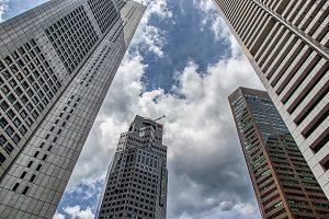 skyscrapers office